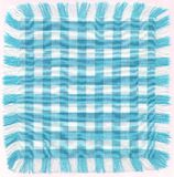 Bleu checkered Image libre de droits