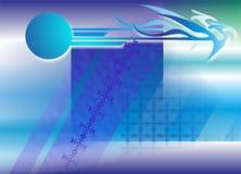Bleu-clair abstrait de papier peint images stock