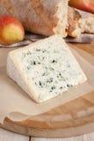 Bleu D'Auvergne-Käse Stockfoto
