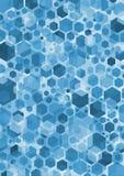 Bleu d'hexa Photographie stock libre de droits