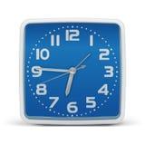 Bleu d'horloge - vecteur Photos libres de droits