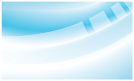 Bleu dans le fond abstrait blanc Photographie stock libre de droits