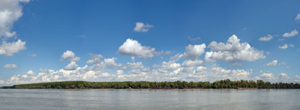 Bleu Danube de locations Photographie stock