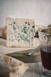 Bleu DAuvergne Cheese Royalty Free Stock Photos
