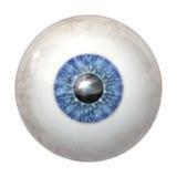 Bleu de bille d'oeil illustration libre de droits