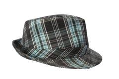 Bleu de chapeau de la jeunesse Photo libre de droits