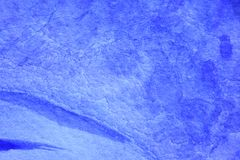 Bleu de cobalt Hue Watercolor Background 9 Image stock