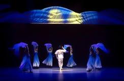 ` Bleu de danse du ` s d'espoir-Huang Mingliang d'océan aucun ` d'abri Image stock