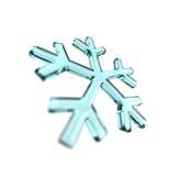 Bleu de flocon de neige Photo libre de droits