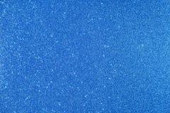 bleu de fond scintillant Image libre de droits