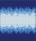 bleu de fond scintillant illustration de vecteur