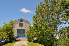 bleu de grange photo libre de droits