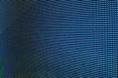 Bleu de l'écran SMD de LED Images stock