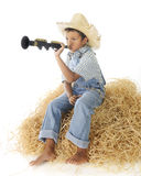 Bleu de Little Boy Photos libres de droits