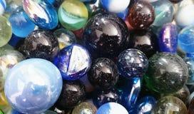 Bleu de Marbleicious Photographie stock libre de droits