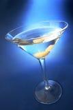 Bleu de Martini Photos stock
