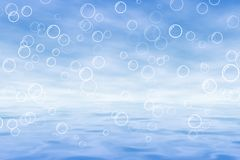Bleu de mer Image stock