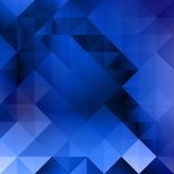 Bleu de mosaïque Photos libres de droits