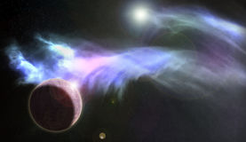 Bleu 1 de nébuleuse de planète Images stock
