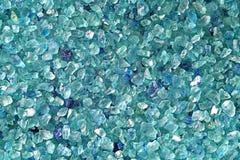 Bleu de sel Photos libres de droits