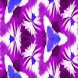 Bleu de signe de kaléidoscope de batik Photo libre de droits