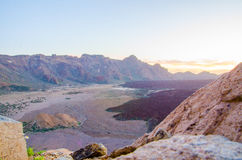 Bleu de Teide Image stock