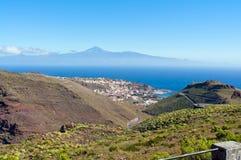 Bleu de Teide Photo stock