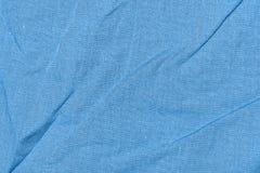 Bleu de tissu Image stock