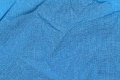 Bleu de tissu Photos stock
