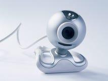 Bleu de webcam Photos stock