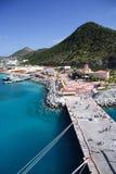 Bleu des Caraïbes Photographie stock