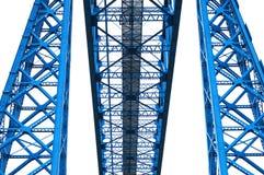 Bleu en acier Photographie stock