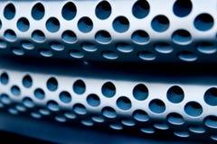 Bleu en acier Photos libres de droits