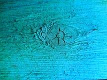 Bleu en bois de texture de fond de peinture Photographie stock
