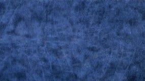 Bleu en cuir et lisse Images libres de droits