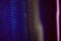 Bleu et écran de smd de LED coloré par rose Photos libres de droits