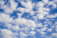 Bleu et blanc Image stock