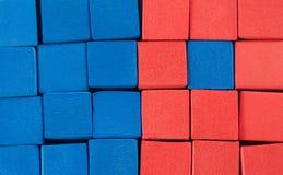 Bleu et orange Photos libres de droits