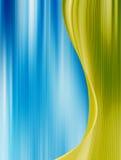 Bleu et vert Photo stock