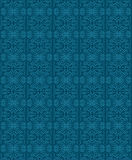 Bleu floral ornemental de texture de modèle de vecteur Image stock