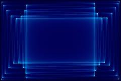 Bleu-foncé et noir abstraits Image stock