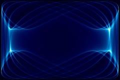 Bleu-foncé et noir abstraits illustration libre de droits