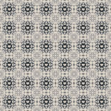 Bleu-foncé sans couture et Grey Damask Wallpaper Pattern Image libre de droits