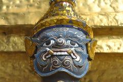 Bleu géant de la Thaïlande de visage de titan Photographie stock