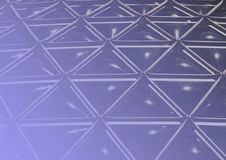 Bleu géodésique Images stock
