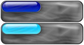 Bleu - galetage azuré Images libres de droits