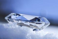 Bleu glacier Images stock