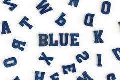 Bleu III Photo stock