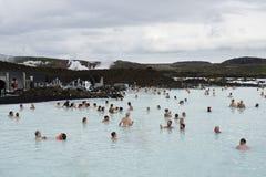 Bleu Lagon de l'Islande Photographie stock libre de droits