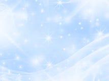 Bleu lisse avec des étoiles illustration stock
